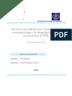 Factores Que Influyen en El Rendimiento Neuropsicologico de Drogodependientes Seropositivos Al Vih 0