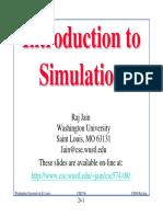 Introduction to Simulation - Raj Jain