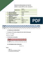Calibracion de Asperjadoras de Tractor