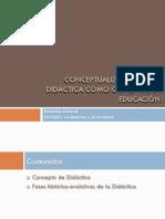 Didactica General Tema 1