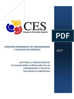 Guia Para Actualizacion Curricul r 2017 1