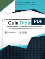 Guia Didático - sala de Ambientação e Introdução aos Cursos de EaD da UEMA