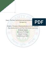 1-Process of Democratisation - PRASANTA SAHOO-FINAL-1