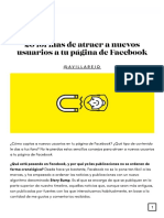 Fidelizar Con Facebook