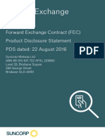 Fx Forward Exchange Contract Pds