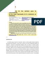 Comparacindedosmtodosparaladeterminacin