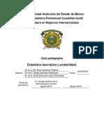 Guía Pedagogica de Estadistica y Probabilidad Final