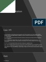 Case Presentation - Ivan Wudexi