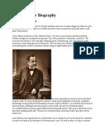Louis Pasteur Biography