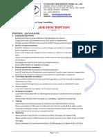 Job Description - QA Mgr
