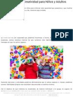 10 Dinámicas de Creatividad para Niños y Adultos - Lifeder.pdf
