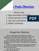 Nutrisi Pada Obesitas