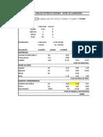 Exámen Parcial Costos y Presupuestos