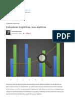Indicadores Logísticos y Sus Objetivos - MeetLogistics