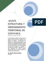 Ajuste Estructural y Ordenamiento Territorial CR 2005