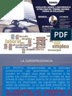 Jurisprudencia y Legislacion Laboral