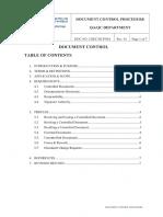6.2document Control Procedure