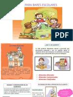 Guía Para Bares Escolares