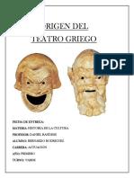 Origen Del Teatro Griego