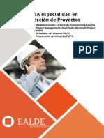 MBA Especialidad Direccion de Proyectos
