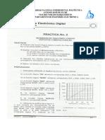 Practica 2 Circuitos lógicos Combinacionales Boléanos