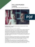 Gleyzer - Entrevista a Raymundo Gleyzer
