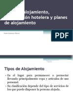 tiposdealojamientoclasificacinhotelerayplanesdealojamientoclase-091118210317-phpapp02