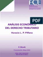 Analisis Economico Del Derecho Tributario