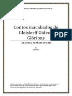 Os Contos Inacabados de Gleislerff Gideon Glórions