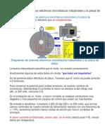 Diagramas de Motores Eléctricos Monofásicos Industriales y La Placa de Datos