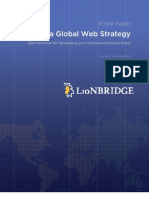 Building a Global Web Strategy