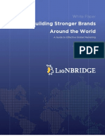 Building Stronger Brands Around the World