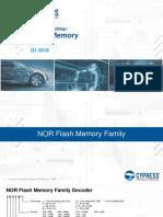 Cypress RoadmapFlash Memory