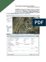 3.3.Georeferenciar Imagen de Google Earth en ArcGIS10