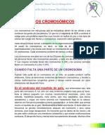trastornos cromosomicos