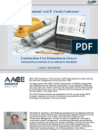 Construction Cost Estimation in Greece