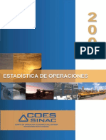 Estadistica de Operacion 2009
