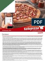 TELEPIZZA Ejercicio 2017 Presentation Resultados 1