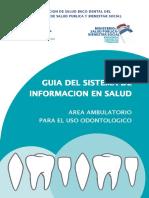 GUÍA DEL SISTEMA DE INFORMACIÓN DE SALUD CIE 10 Ecuador
