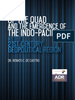 The Revival of the QUAD and the Emergence of the Indo-Pacific as the 21st Century Geopolitical Region