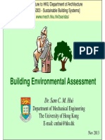ARCH5303_Building Environmental Assessment