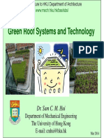 Green Roof Systems and Technology