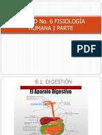 Presentacic3b3n Unidad No 6 Fisiologc3ada Humana i Parte