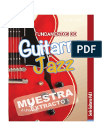 Muestra Fundamentos de Guitarra Jazz Serie Guitarra Vol3 E Book 1