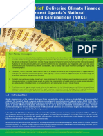 Uganda Climate Finance Policy Brief May 2018
