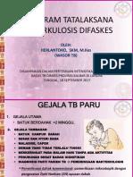 Program Penatalaksanaan Tuberkulosis
