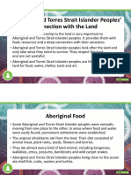 aboriginal and torres strait islander  connection with the land