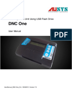 User Manual DNC One 2015