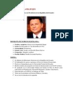 Patricio Zuquilanda Duque