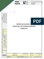 Design Calculation Cladding Bracket